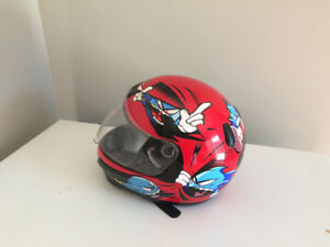 Dirt bike/skidoo helmets