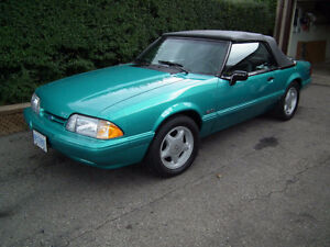 1992 Ford Mustang LX 5.0 H.O V8 5 Speed Calypso Green