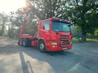Scania P-310 SKIP LOADER 6X2 4 OVER 4 MANUAL GEARBOX