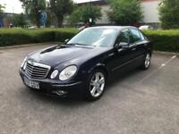 2007 07 MERCEDES-BENZ E CLASS 3.0 E280 AVANTGARDE 4D AUTO 228 BHP