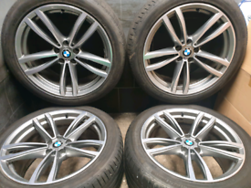 19 inch Genuine Staggered BMW 7 series G11 Alloy wheels