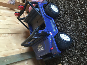 12 volt Jeep for sale