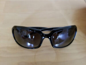 D&G Designer Black POLARIZED Gray lens Sunglass - 2192