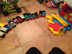 Huge thomas the tank collection