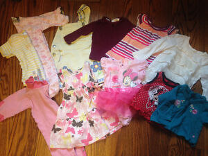 Huge lot of baby girl clothes