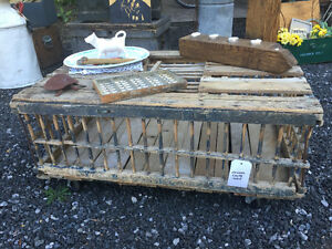 Antique Chicken Crate Table London Ontario image 1