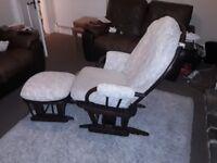Designer Dutailier rocking /nursing chair