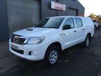 2012 (62) Toyota Hilux 2.5 D4-D HL2 Double Cab 4x4 Diesel Pickup *87k* NO VAT *