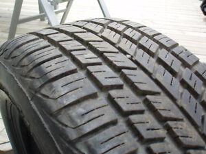 Two 205/60R14 All Season Tires