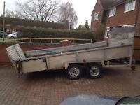 Plant transporting trailer