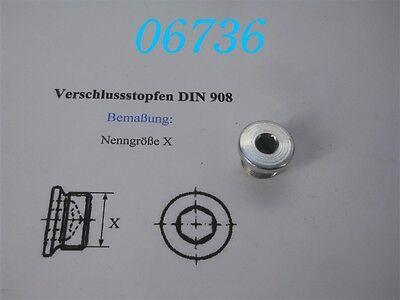 VERSCHLUSS-SCHRAUBE  M 18 x 1,5  -DIN 908- gebraucht kaufen  Mehrstetten