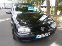 53 Volkswagen Golf 1.4 2004MY Match in black