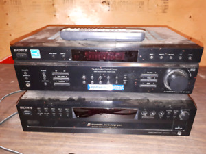 Sony Amp and CD player