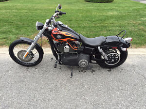 2010 HARELY wide glide fxwg