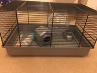 Used hamster cage £10 needs to go ASAP ! good condition comes with accessories