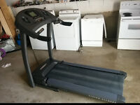 professional treadmill + complete home gym