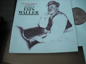 Fats Waller 3 LP Box Set - One Never Knows Do One? The Best Of. Belleville Belleville Area image 3