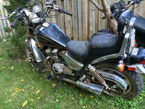 1987 Kawasaki 454 ltd parts bike