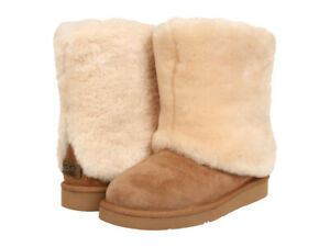 UGGs natural sheepskin shearling boots