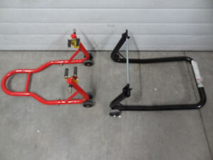 CBR 929 front and rear bike stands