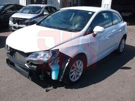 2015 Seat Ibiza SE 1.4 DAMAGED REPAIRABLE SALVAGE