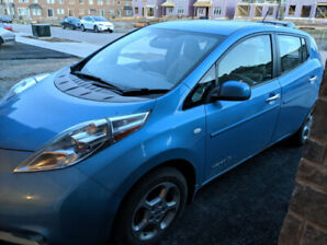 2012 Nissan Leaf Good Condition ***Price lower for quick sale***