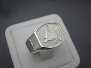Newfoundland Map Sterling Silver Rings