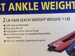 Soft Wrist Ankle Weights from York Fitness Kitchener / Waterloo Kitchener Area image 3