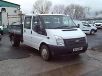 Ford Transit T350 Double Cab Tipper 100ps [Drw] Euro 5 DIESEL MANUAL (2014)