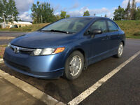 2008 Honda Civic Blue Sedan