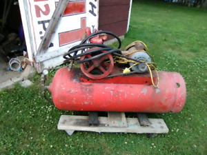 Old Air compressor for sale .