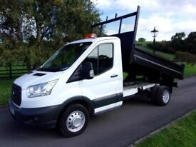 FORD TRANSIT 350 125PS TIPPER 64 REG 32,500 MILES