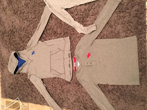 3 Abercrombie Long Sleeve T-Shirts in Large