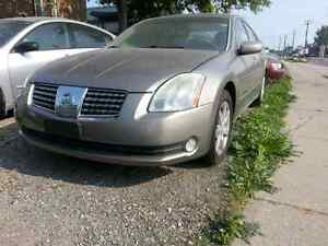 2004 nissan maxima parting out