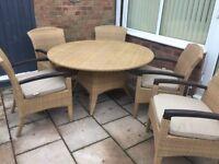 Gloster rattan garden lounge dining furniture