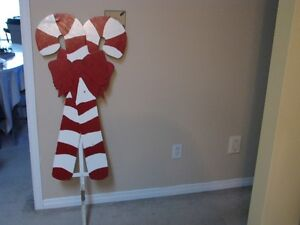 Outdoor Candy Cane Decoration For Sale