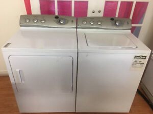 SUPERB CONDITION GE WASHER & ELECTRIC DRYER 2 YRS