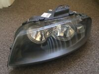 Audi a3 2005 left headlight headlamp