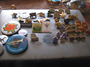 Collectables Pins.  Too many to count!