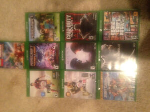 10 Xbox one games barely used