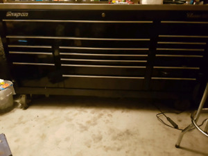 Snap on toolbox for diesel truck