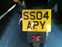 Number plate sso4apy soapy for sale best offers to fit 2004 onwards car motorbike