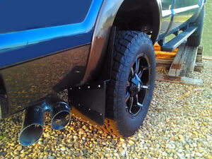 Universal Black Mud Flaps- powder coated  marine aluminum Regina Regina Area image 4