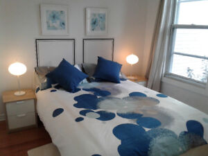Cozy apartment in Rosemont for weekly rentals.