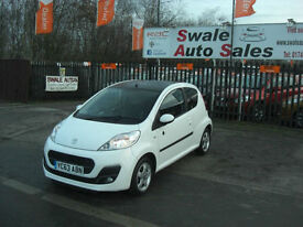 2013 PEUGEOT 107 ENVY 1L SPECIAL EDITION, ONLY 12,767 MILES,FULL SERVICE HISTORY