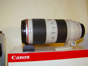 Canon EF 70-200mm f2.8L IS II USM