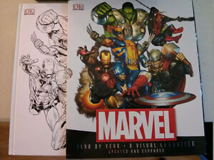 Marvel Year by Year a Visual Chronicle hard cover book $20