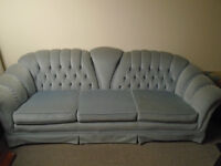 Living room blue Couch FREE