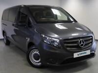 2017 Mercedes-Benz Vito TOURER PRO 114 BLUETEC Diesel grey Semi Automatic