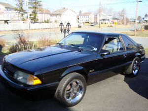 25th Anniversary Ford Mustang 1989